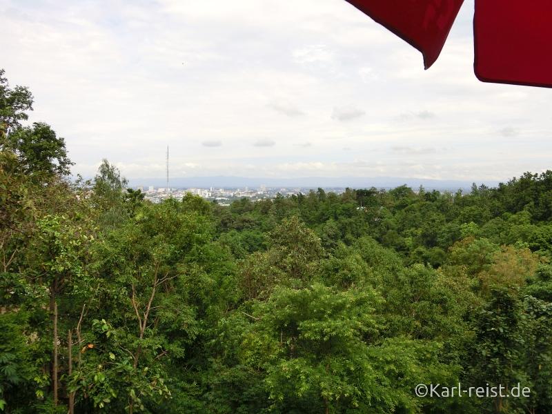 Aussicht auf Chiang Mai