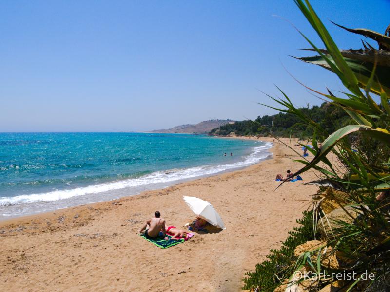 Sizilien Urlaub Strand Sciacca