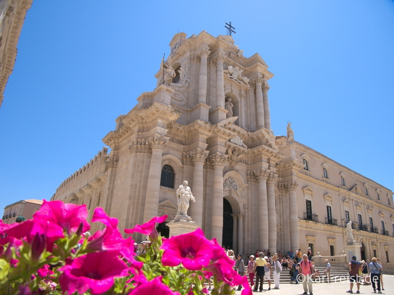 Sizilien Urlaub Syrakus Kathedrale