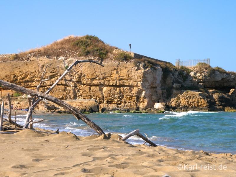 Sizilien Urlaub Strand Naturreservat Riserva naturale orientata Oasi Faunistica di Vendicari Strand