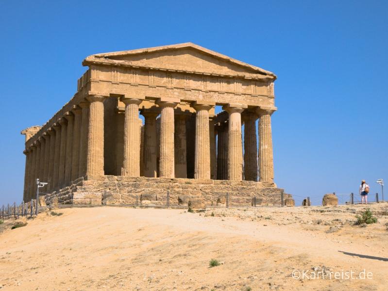Sizilien Urlaub Agrigento Tal der Tempel