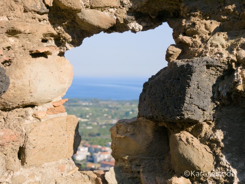 Sizilien Urlaub Castello di Calatabiano