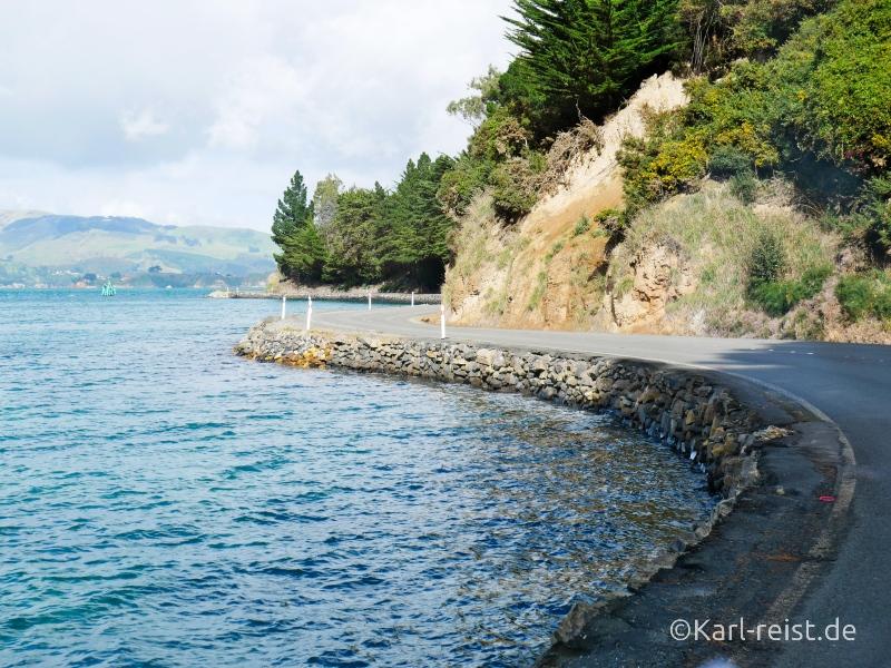 Straße Aramoana Port Chalmers
