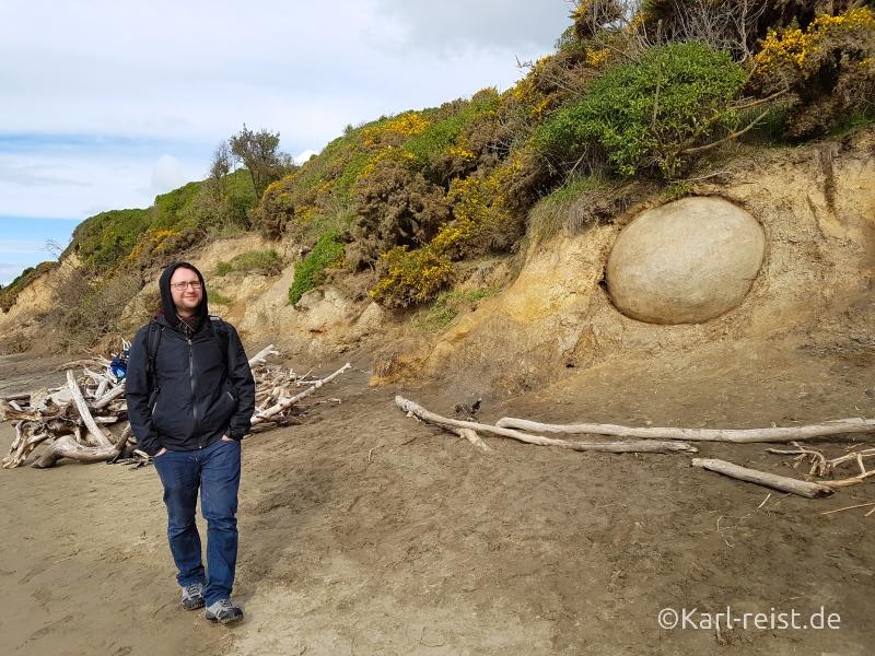 Moeraki Boulders Ostküste Neuseeland Südinsel
