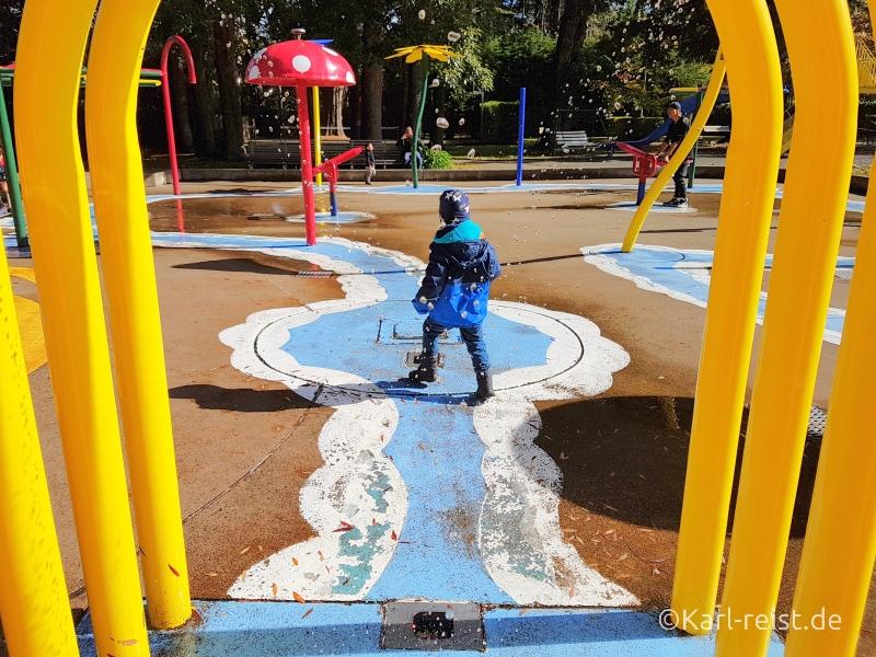 Bild Rundreise Neuseeland Südinsel 3 Wochen Invercargill Queens Park Playground