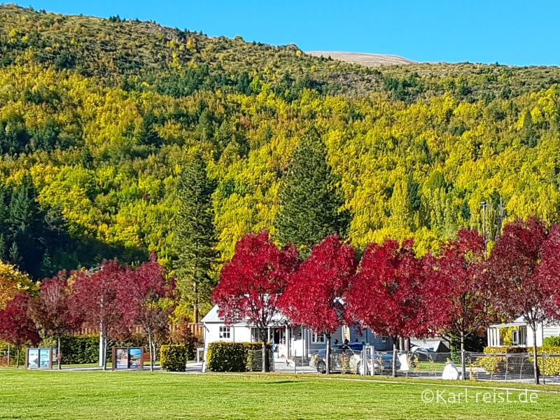 Bild Rundreise Neuseeland Südinsel 3 Wochen Arrowtown
