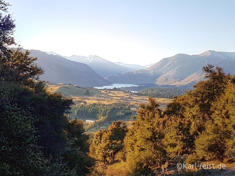 Rundreise Neuseeland Südinsel 3 Wochen Mount Iron Wanaka