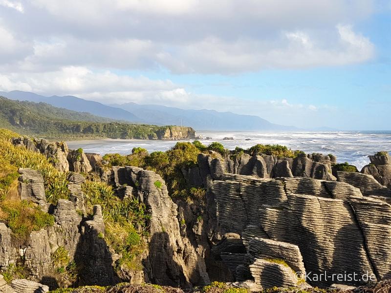 Bild Rundreise Neuseeland Südinsel 3 Wochen Pancake Rocks