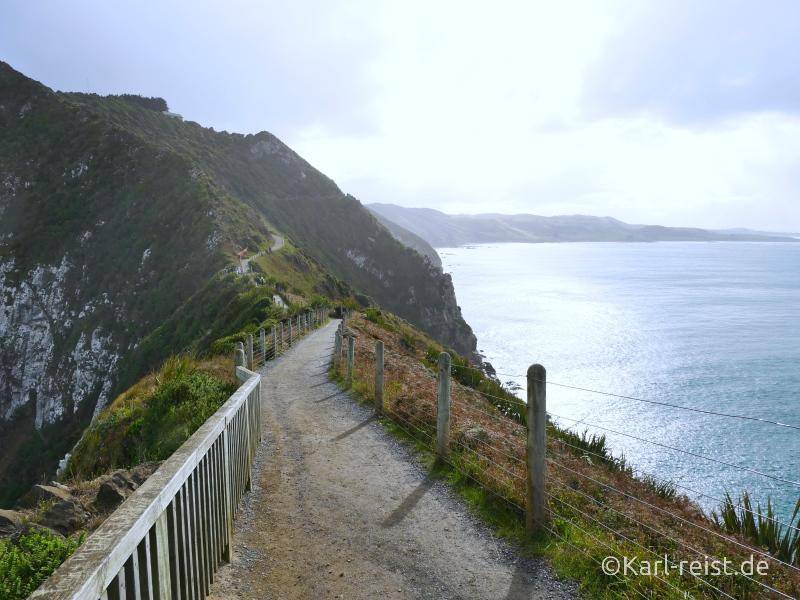 Bild Rundreise Neuseeland Südinsel 3 Wochen Nugget Point Lighthouse