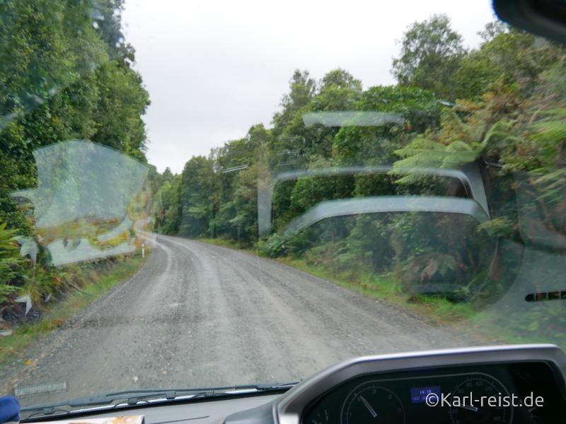 Bild Rundreise Neuseeland Südinsel 3 Wochen Catlins Straßen