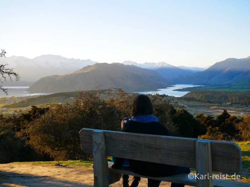 Bild Rundreise Neuseeland Südinsel 3 Wochen Wanaka Mount Iron