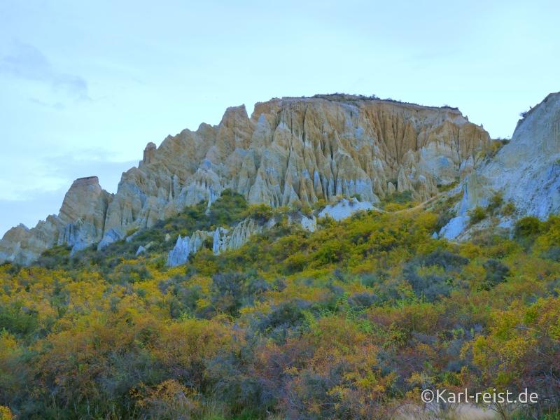 Bild Rundreise Neuseeland Südinsel 3 Wochen Lake Tekapo Clay Cliffs