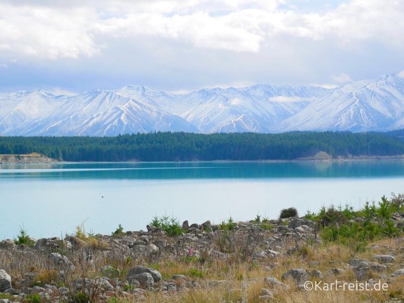 Bild Rundreise Neuseeland Südinsel 3 Wochen Lake Tekapo