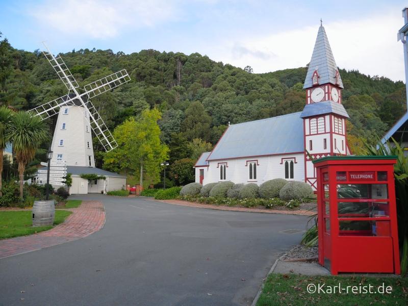 Bild Rundreise Neuseeland Südinsel 3 Wochen Nelson Founders Park