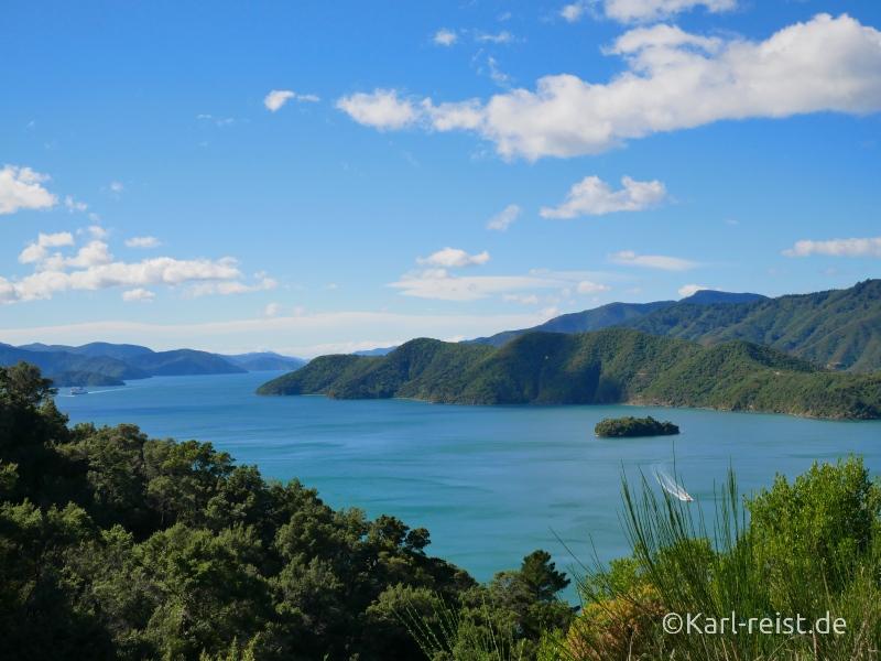 Bild Rundreise Neuseeland Südinsel 3 Wochen Marlborough Sounds