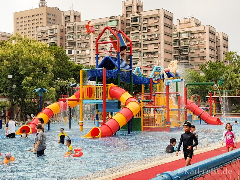 Taipei water park zhongzheng