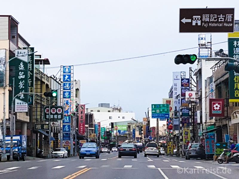 Taiwan Straßen