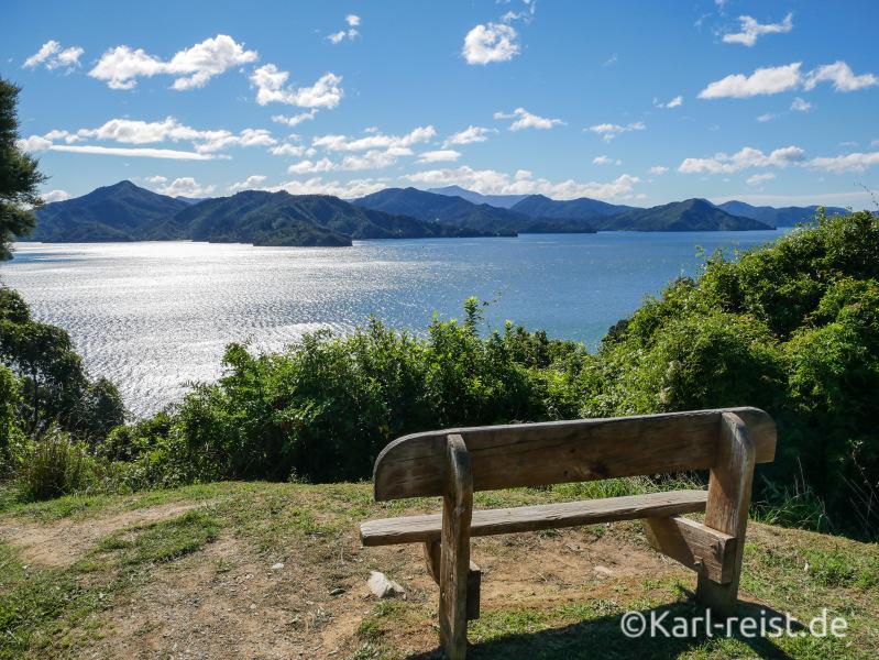 Marlborough Sounds Neuseeland Südinsel