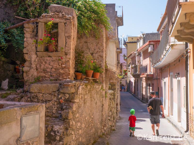 Forza d'Agro Sizilien Straßen