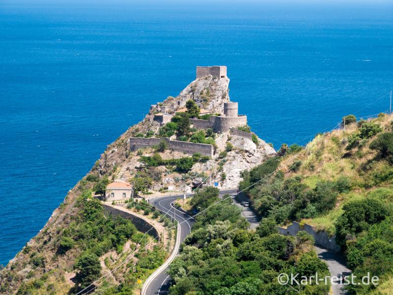 Forza d'Agro Sizilien Castello Saraceno