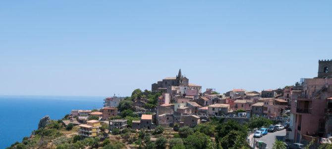 Die beste Aussicht auf Sizilien in Forza d'Agro und Shooting Location vom Godfather Film (Der Pate)