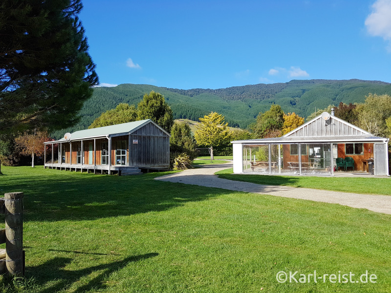 Smiths Farm Holiday Park Marlborough Sounds Camping