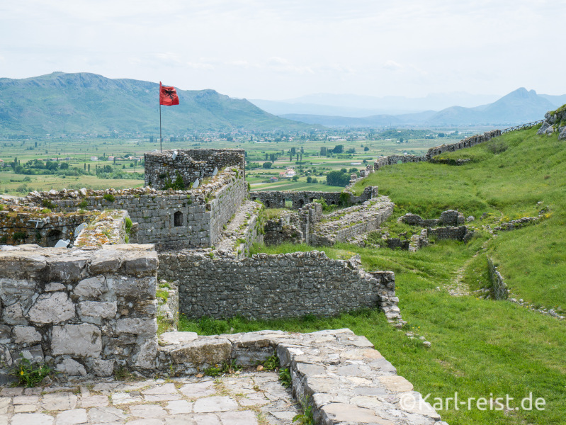 Schloss Rozafa Castle in Shkodra