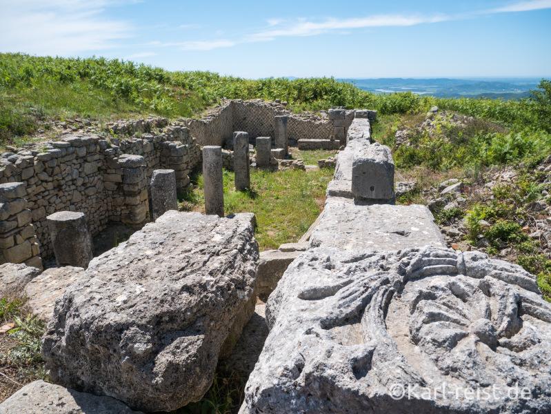 Byllis Archälogische Ausgrabungsstätte
