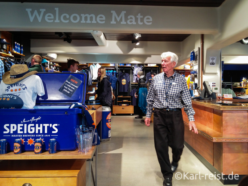 Speights Brewery Tour Dunedin Brauereiführung Neuseeland