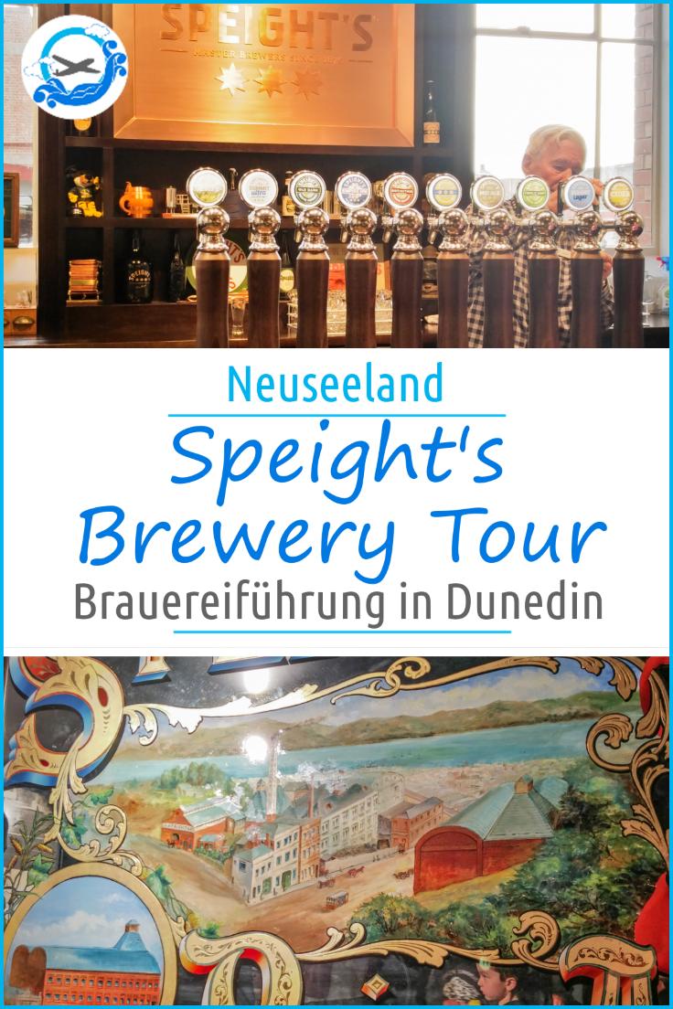 Brauereiführung durch die Speight's Brewery in Dunedin. Ein Ausflug, der auch für Familien interessant ist und natürlich für alle Bierliebhaber ein Muss ist. Was euch dort erwartet, erfahrt ihr hier. #bier #homebrew #heimbrauer #brewery #brauerei