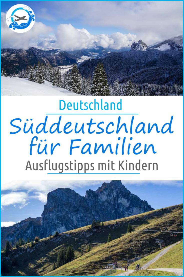 Drei Ausflugsziele in Süddeutschland, die sich besonder auch im Winter lohnen! Hier erwarten euch spannende Ideen für die ganze Familie, die besonders auch mit Kindern Spaß machen #ausflugsziele #AusflugmitKindern #Winterziele
