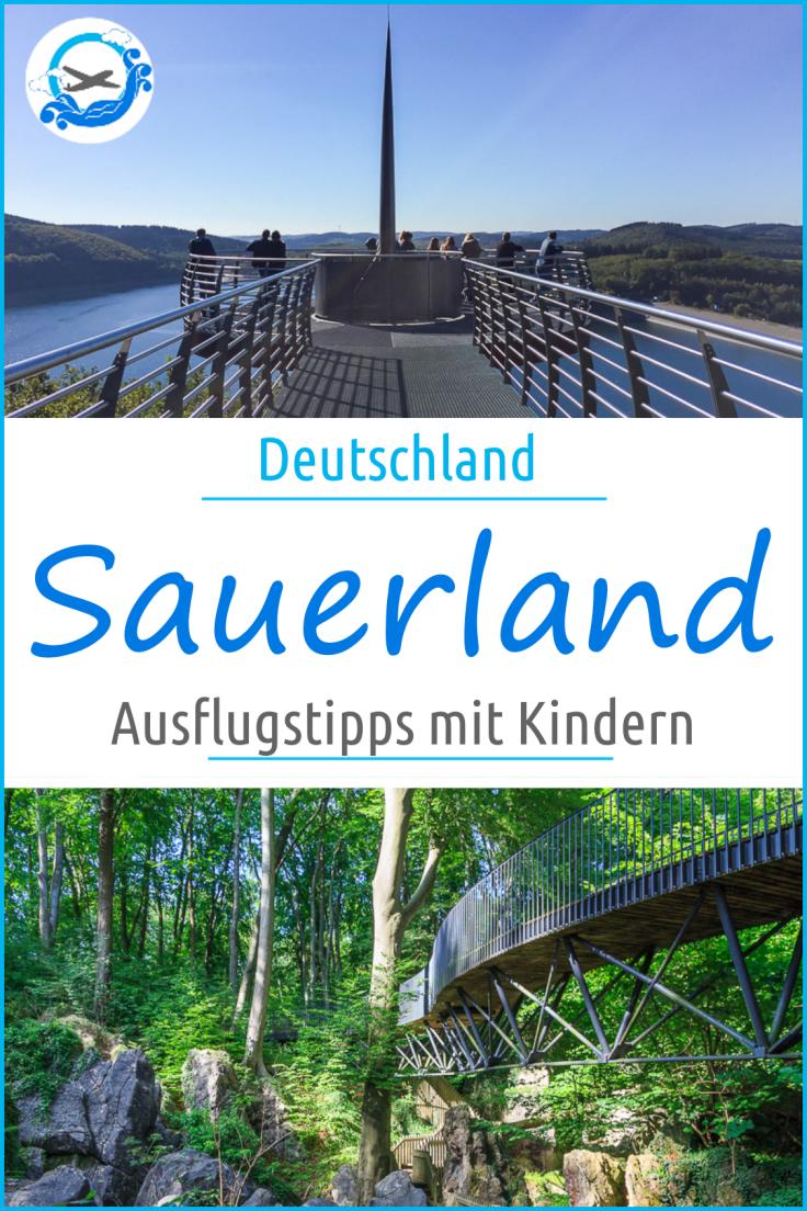 Die besten Ausflugstipps mit Kindern im Sauerland. Wir zeigen euch die 10 spannestens Ausflüge im Sauerland mit Kindern #ausflugstippssauerland #sauerland #sauerlandmitkindern