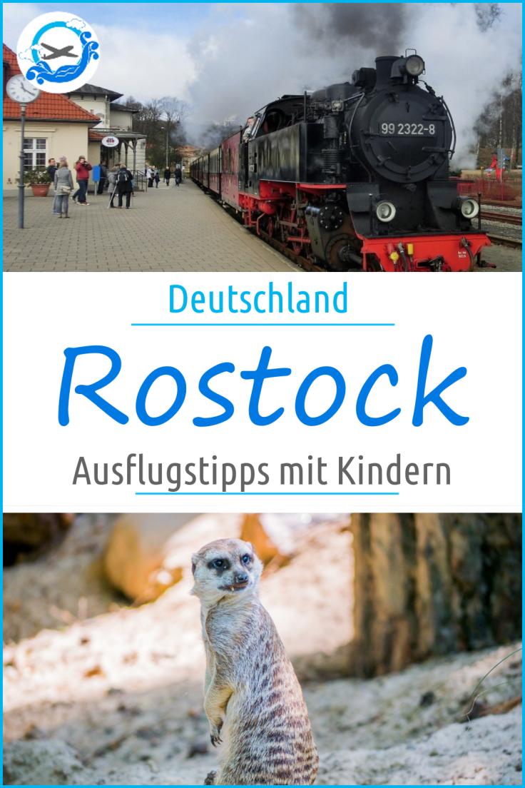 Die besten Ausflugstipps mit Kindern in Rostock! Ausflugsziele für die ganze Familie, auch in Warnemünde.
