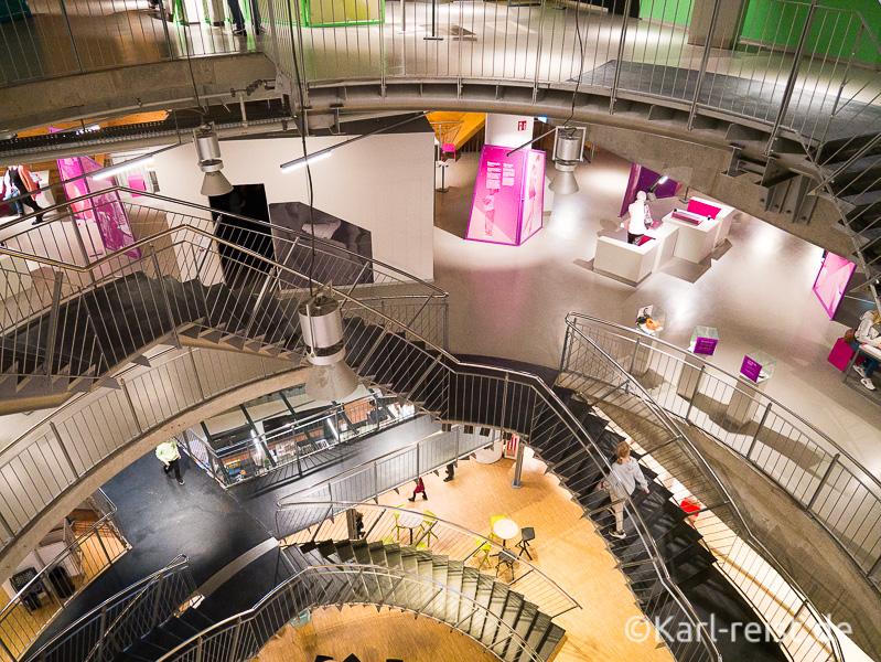 Helix Treppe im Bremen Universum