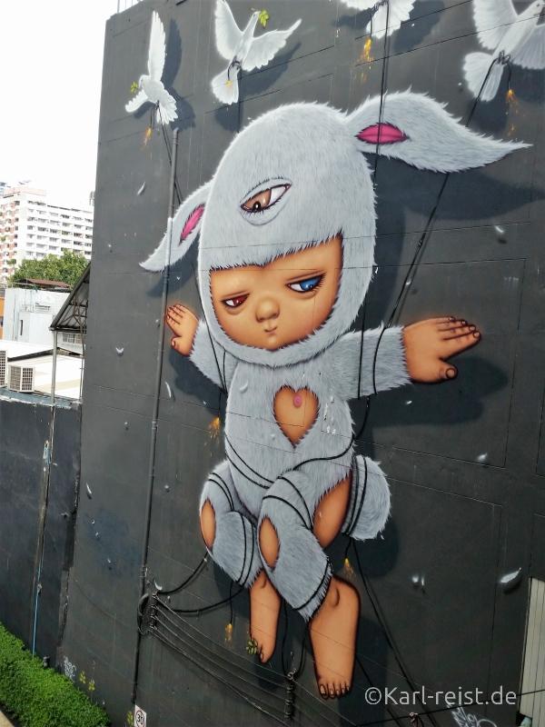 Siam Square National Statium Graffiti