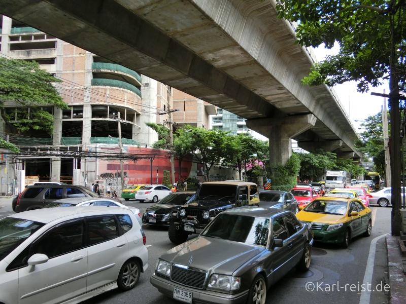 Verkehrschaos Bangkok