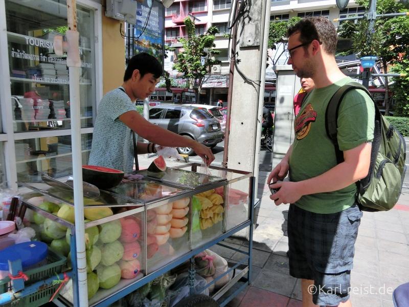 Obststand Bangkok