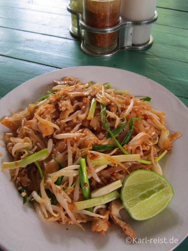 Pad Thai - Gebratene Nudeln